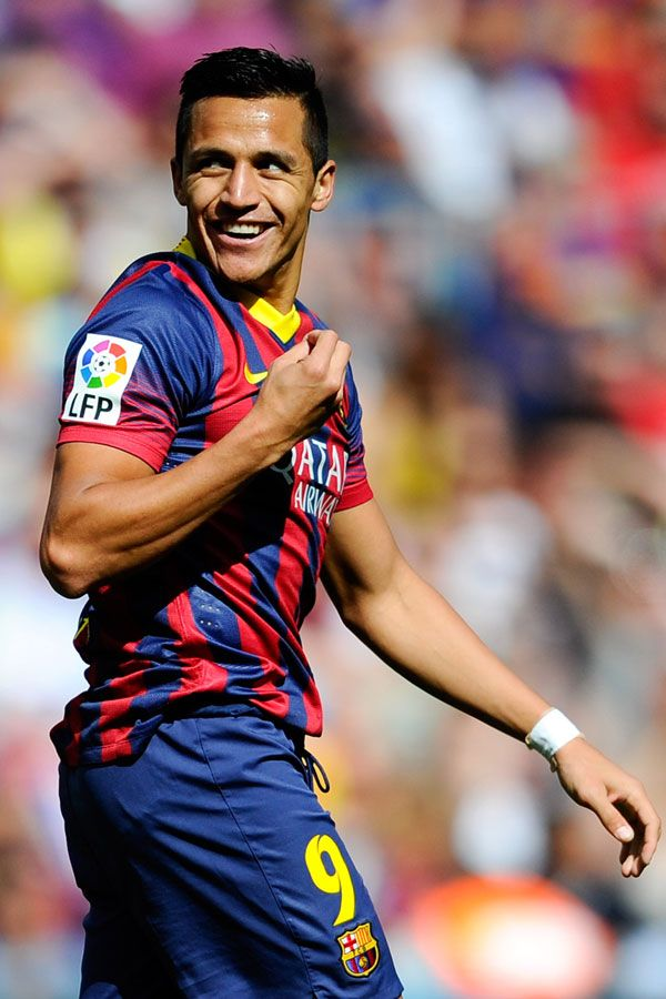 Alexis Sanchez, soccer player from Chile