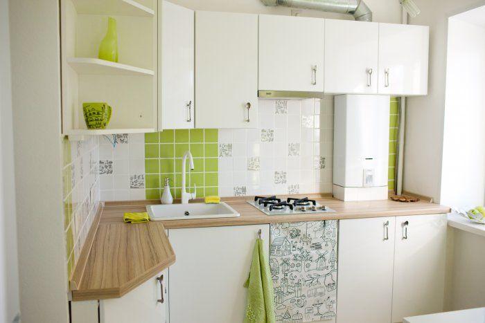 Дизайн кухни с газовой колонкой: маленькой, в хрущевке, с холодильником, 9 кв м, 5 5 кв м, 7 кв м, 6 кв м, фото | Ремонт квартиры