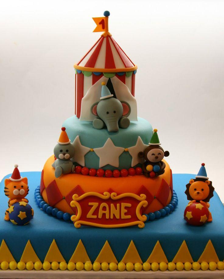 Birthday Ideas for Glamorous Circus Tent Birthday Cake Ideas