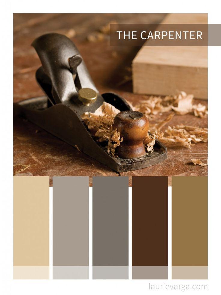 The Carpenter | Website, logo and business colour palette | laurievarga.com