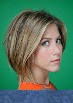 Jen with short hair
