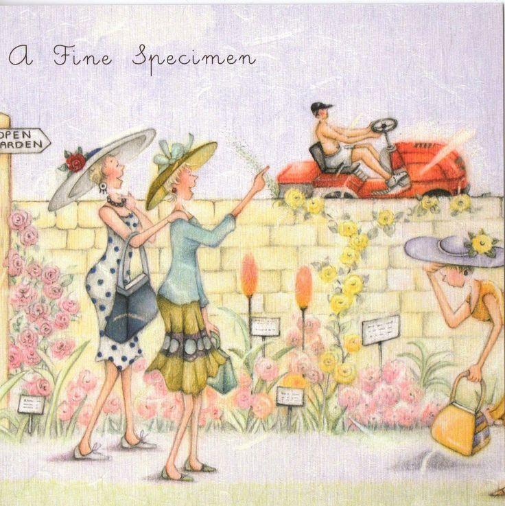 Веселые подружки открытки