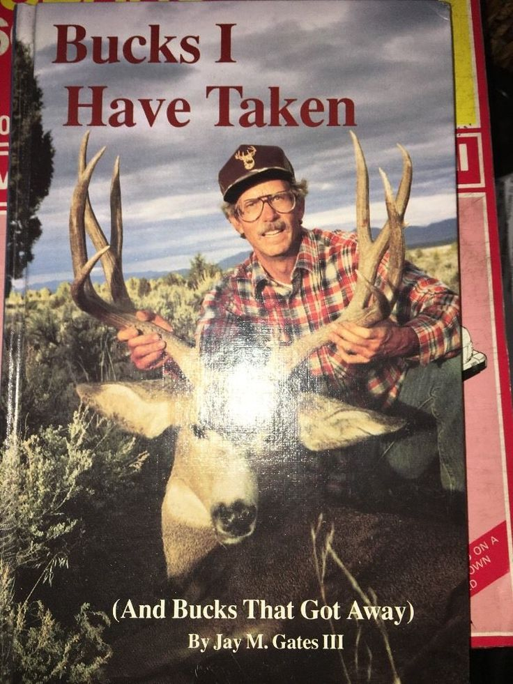 Bucks I Have Taken And Bucks That Got AwayHardcover 1988 by Jay M. Gates II AA