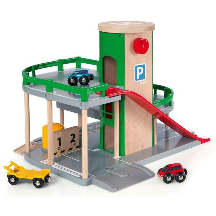 Parkolóház fából, Parking Garage 3 éves kortól - BRIO