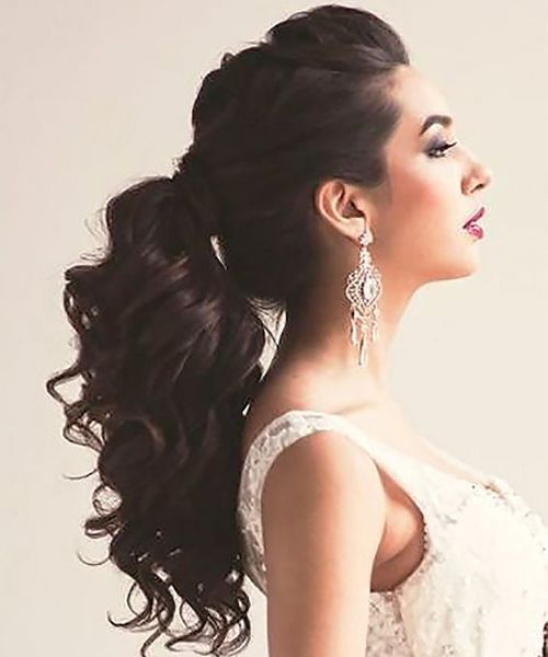 Perfect Ponytail Hairstyles 2018 for Prom