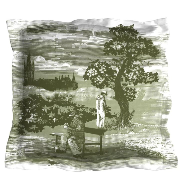 Glasgow Toile cushion