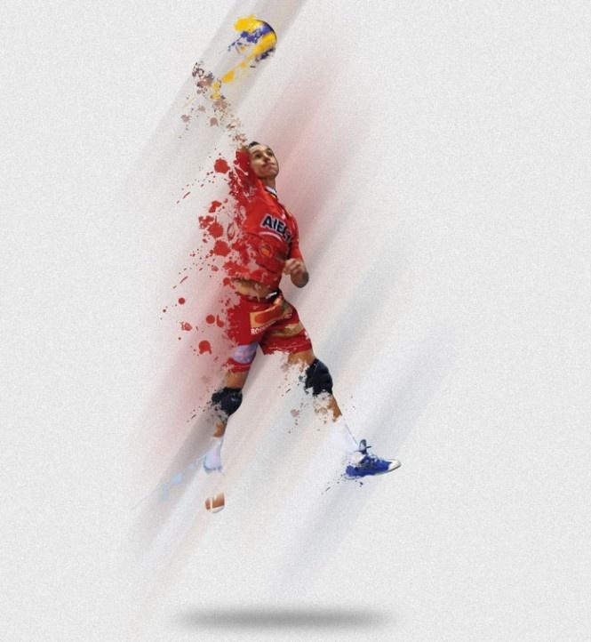 Grafiche volley
