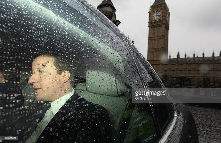 British prime Minister David Cameron leaves the Houses of Parliament after addressing the Commons on March 18, 2011 in London, England. UK defence forces will help to enforce a no-fly zone over Libya after the UN voted in favour of a resolution that backed 'all necessary measures', except a foreign occupation force, to protect Libyan civilians.