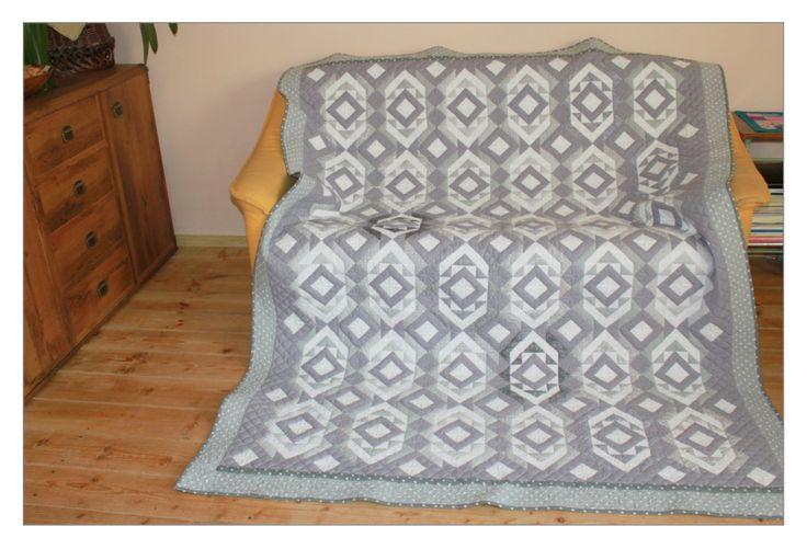 patchwork, quilt, narzuta patchworkowa
