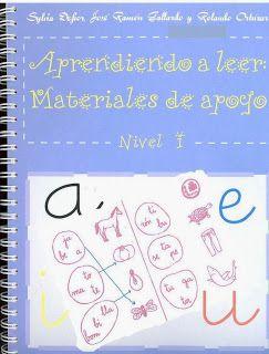 DE PATA DE PERRO POR LA ESCUELA: E-Libro. Aprendiendo a leer (en PDF)