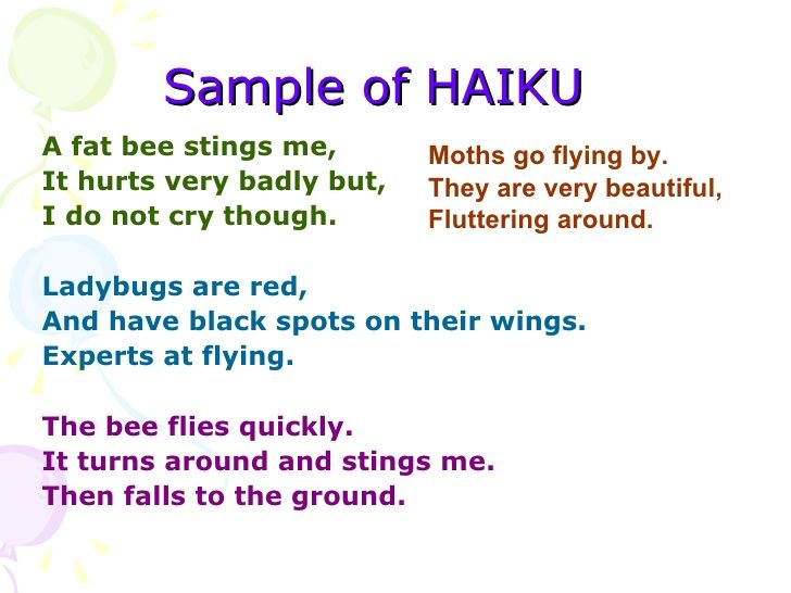 national haiku day  april 17