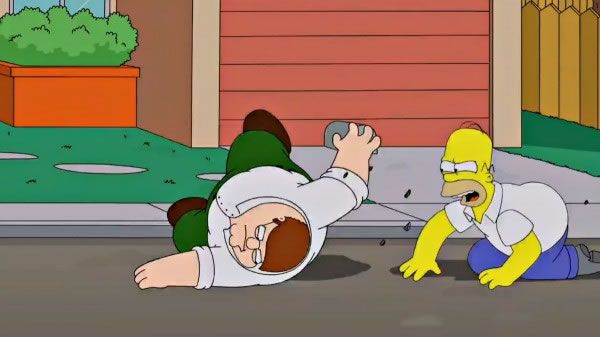 Familia da Pesada e Simpson