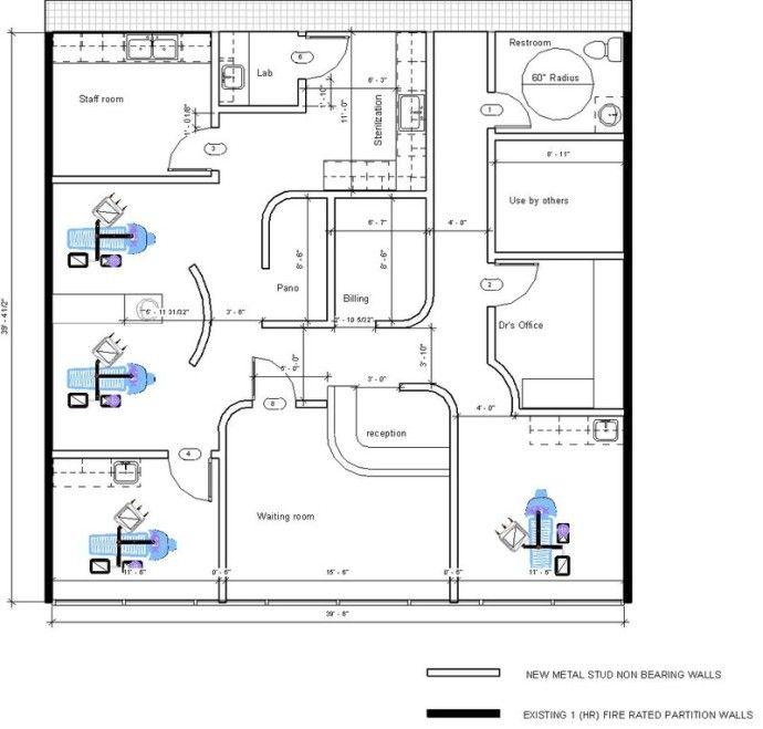 Floor Plan Design Dental Office
