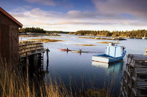 Just WOW. Not sure whereabouts in Nova Scotia this is, but it's very serene.