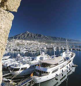 Puerto Banús, Marbella, Spain.