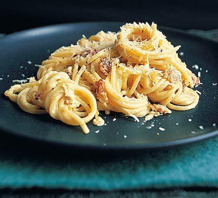 Dead good spaghetti carbonara