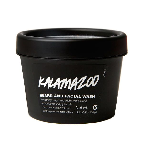 Kalamazoo Beard and Facial Wash | Cleansers | LUSH - WHOAH my beard loves me after I started using this goop.