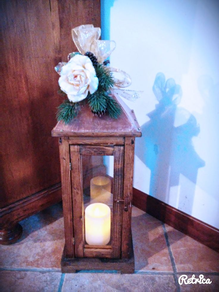 Lanterne in legno fatte a mano