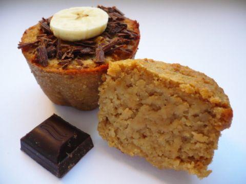 Muffiny bez mouky a vajec