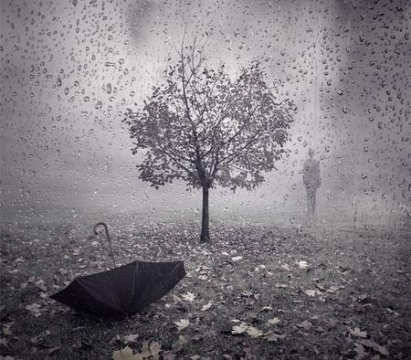 Sad Rain Wallpaper
