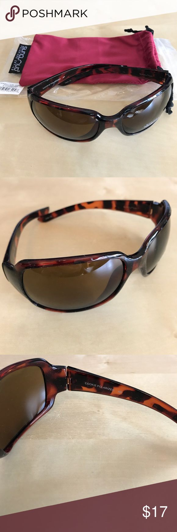 Suncloud Polarized Cookie Sunglasses Tortoise New Suncloud Polarized Cookie Sunglasses Tortoise brand new. Suncloud Accessories Sunglasses