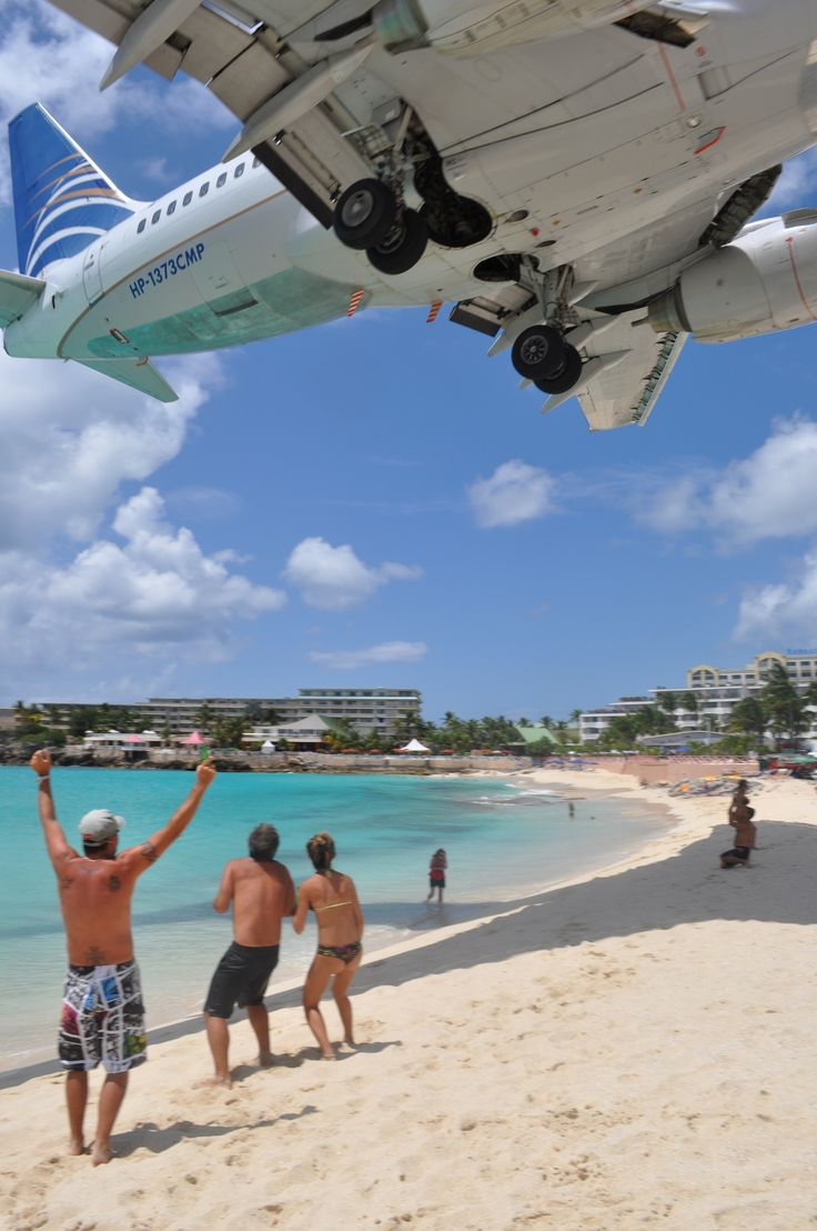 An unforgettable beach experience in St. Maarten