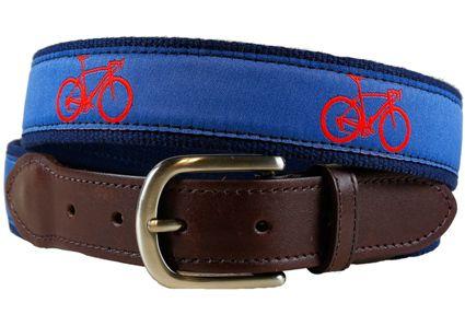 Road Bike Belt II on Blue - A&L Home/ Agatha & Louise