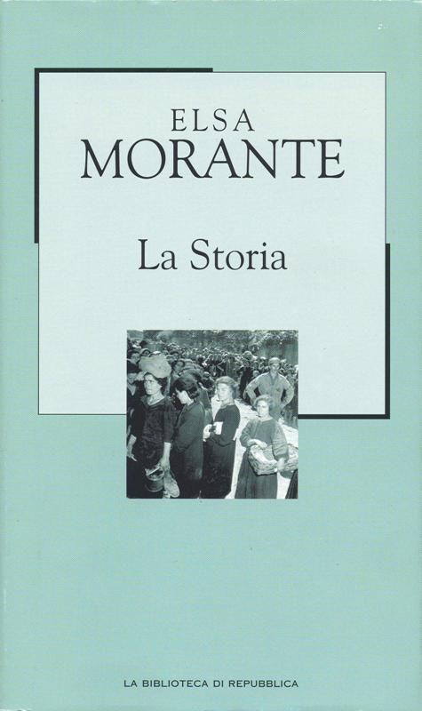 La #Storia, #Elsa #Morante. Incipit: Un giorno di gennaio dell'anno 1941, un soldato tedesco di passaggio, godendo di un pomeriggio di libertà, si trovava, solo, a girovagare nel quartiere di San Lorenzo, a Roma.