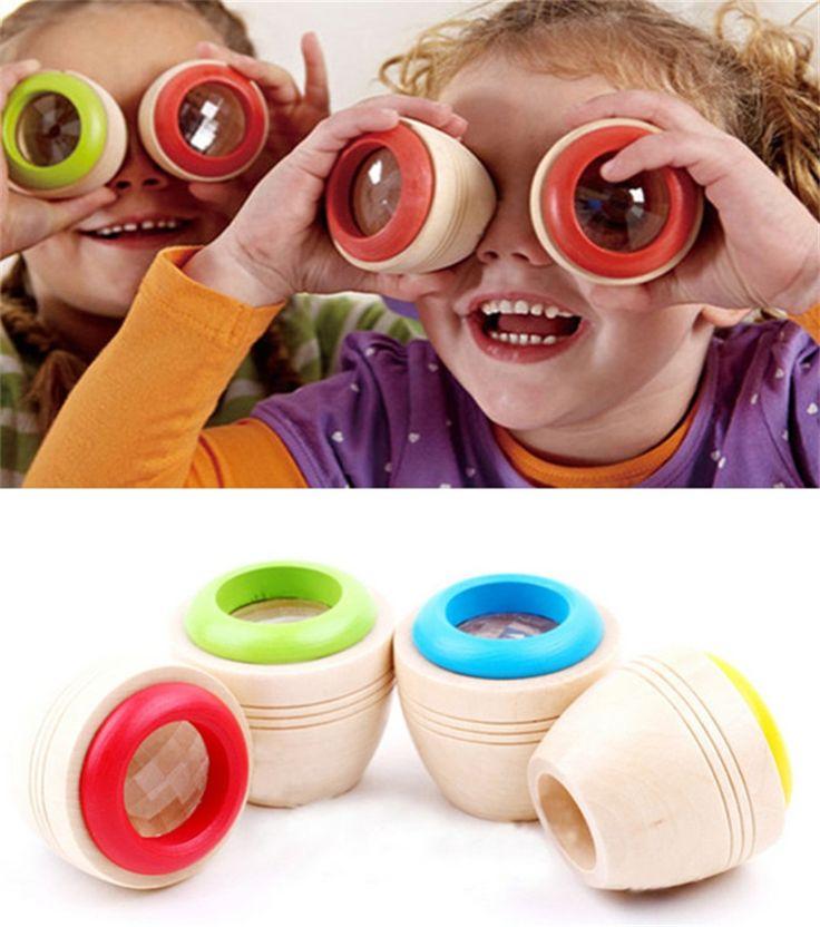 Educativos de madera caleidoscopio mágico del cabrito del bebé niños del juguete del rompecabezas #10