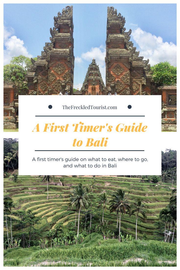 Bali travel guide.