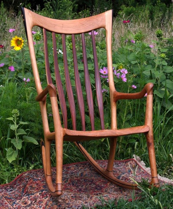 Handmade Rocking chair by Lindau Wood Works | CustomMade.com