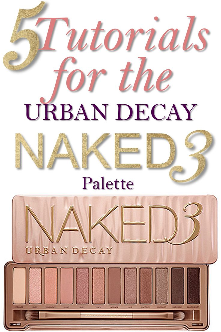 5 Urban Decay Naked 3 Palette Tutorials. I'm not normally big on eye shadow, but this naked 3 palette has me intrigued