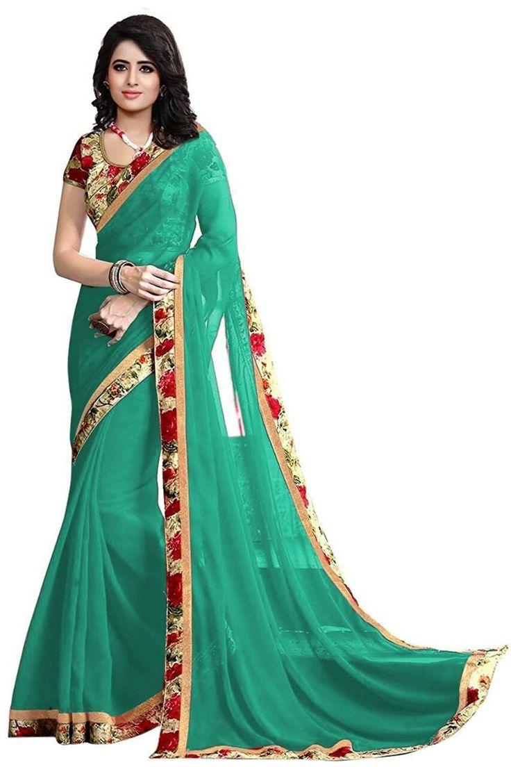 Kapadewala Designer Green Silk Saree For Women