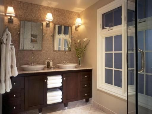 Bathroom Design. Bathroom Designs European Styles Attractive Bathroom Designs European Styles Two Styles in One Room of Bathroom Design Gold Tropical Faucets For Bathroom Designs. Waterfall Tropical Bathroom Designs. Private Bathroom Design With Double Shower Over Bathtub.