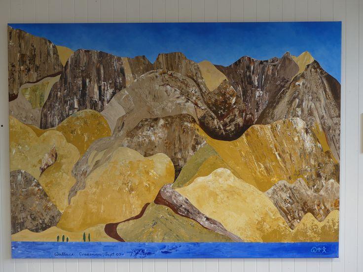 Broken Rhythms, Lake Benmore by Wallace Crossman