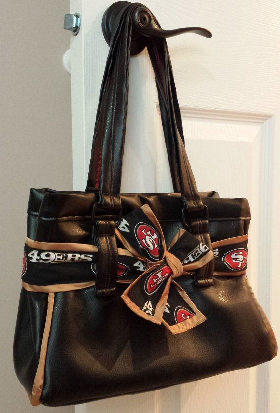 San Francisco 49ers Purse By Meaganneridesigns On Etsy 89 00 49pursessanfrancisco