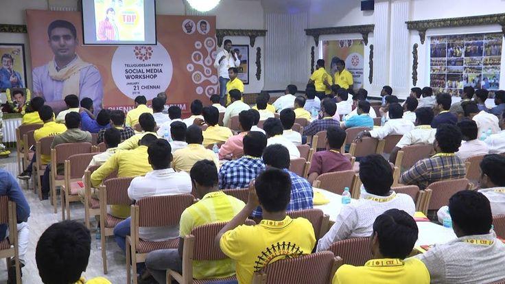 Telugu Desam Party  Social Media Workshop in Chennai|STV