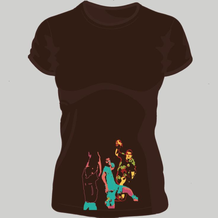 playing handball; t-shirt unisex, woman, child, 9 colors, several sizes; shipping worldwide; 17€ + shipping rates