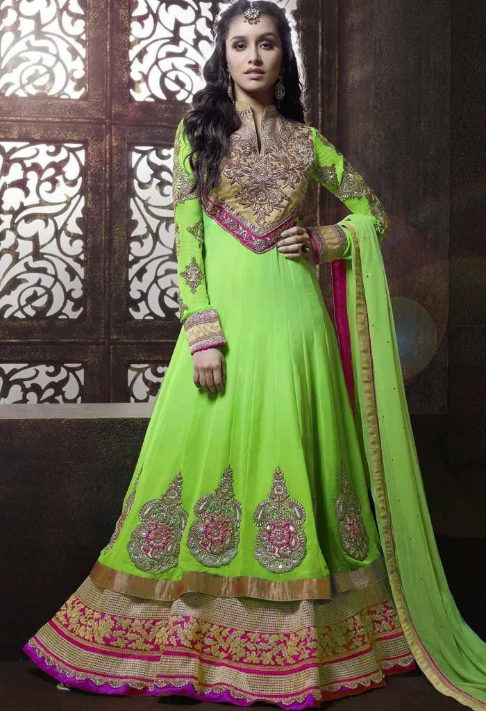 Green Georgette Designer Salwar Kameez With Embroidery Work..@ fashionsbyindia.com #designs #indian #fashion #womens #style #cloths #fashion #stylish #casual #fashionsbyindia #punjabi #suits #wedding #salwar #kameez #chic #outfits #elegance #fantasy #beauty #outfits #embroidered #anarkali