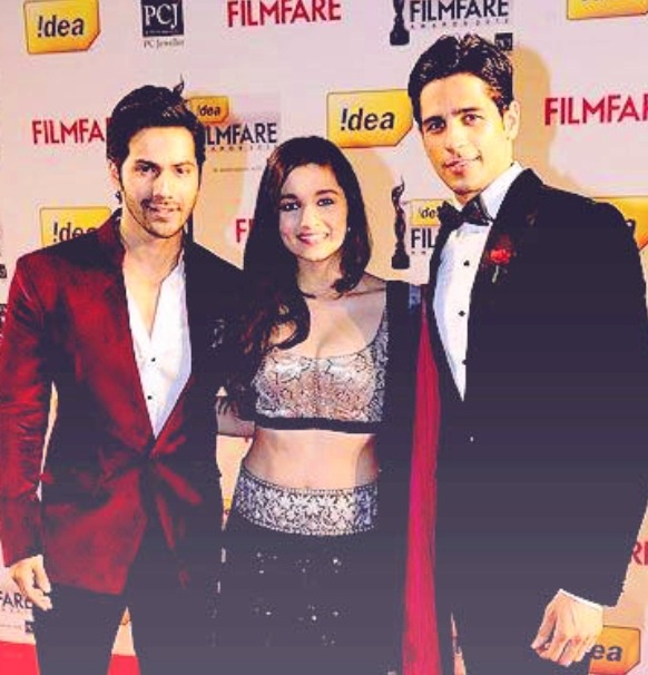 The soty team at the filmfare awards