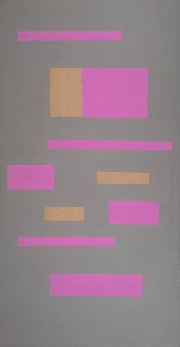 Ad Reinhardt / Abstract Painting / c.1951-2 / oil paint on canvas