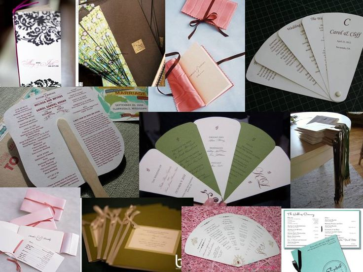 wedding itinerary templates free   Libre à vous de choisir le modèle de programme de messe orginal mais ...