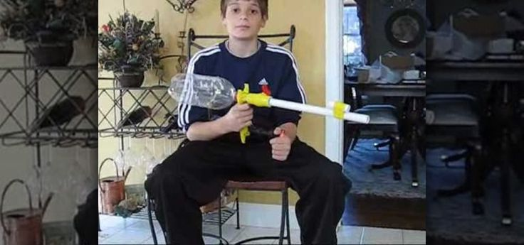 Video Tutorial for hand-pump powered Nerf dart blaster