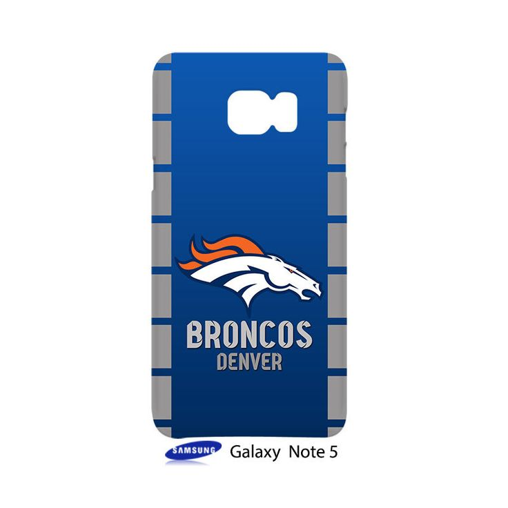 Denver Broncos Samsung Galaxy Note 5 Case Cover Wrap Around