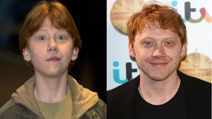 Saturday Nov. 16th marks 12 years since the beginning of the Harry Potter movie saga. Here's a look at the actors then and now.