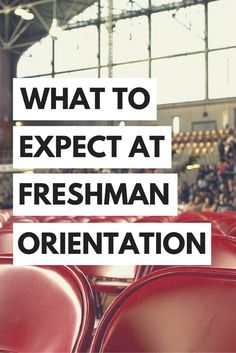 New student orientation. Welcome week.  NSO. Freshman orientation. *Insert your school mascot here* days. Whatever your school calls it, you know exactly what I'