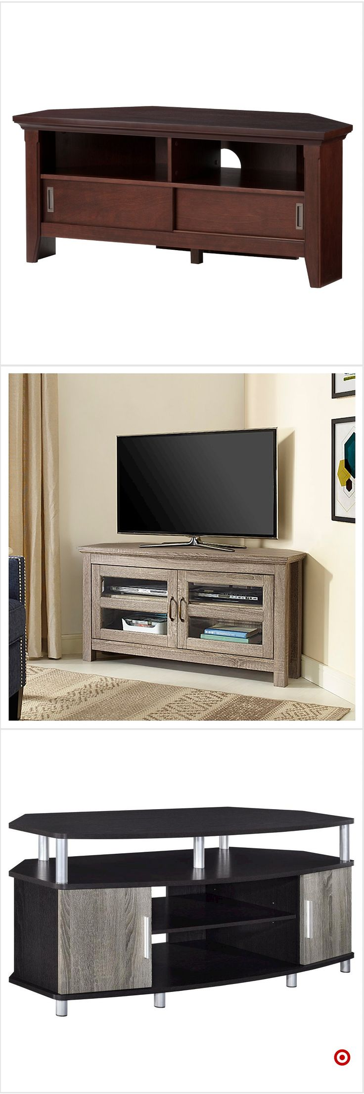 Tv television stands austin s furniture - Shop Target For Corner Tv Stand You Will Love At Great Low Prices Free Shipping