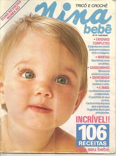 Revista Trico e Crochê Bebê NINA - Receita Tricô Fácil