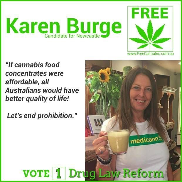 Karen Burge - candidate for Newcastle NSW