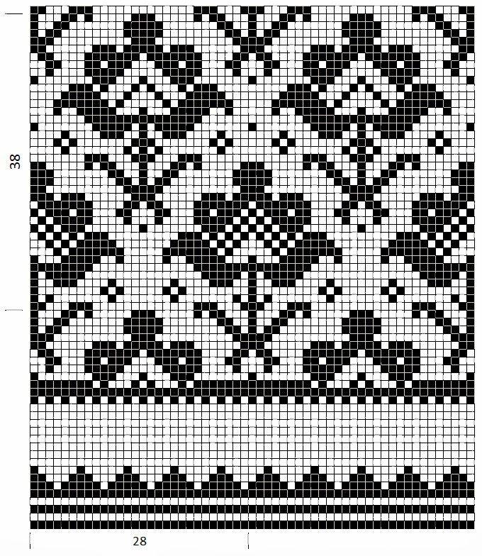 753 best Fair -Isle patronen images on Pinterest | Filet crochet ...